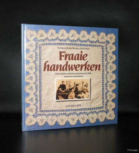 Boer-Jantzen # FRAAIE HANDWERKEN #patterns from 1900,Lace,broidery