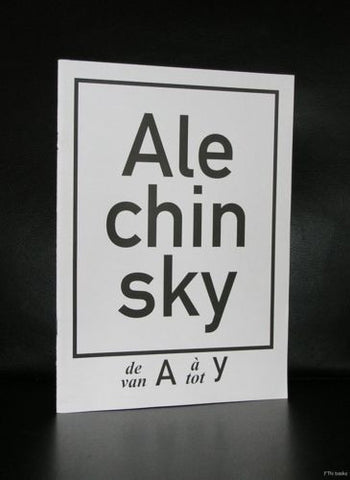 Alechinsky # Van A tot Y # 2007, nm+
