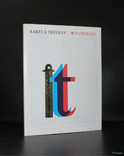 dutch Typography # KAREL F. TREEBUS # 1986, nm+