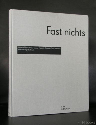 Hamburger Bahnhof, Flick Collection # FAST NICHTS, Minimal art# 2005, mint-