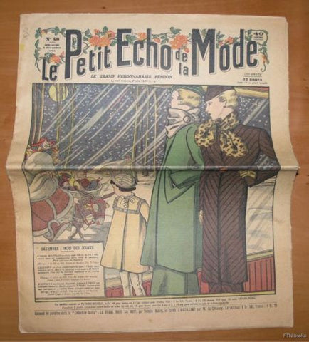 Petit Echo de la Mode  # No. 48 # 1934, nm