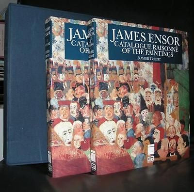 James Ensor # CATALOGUE RAISONNE#mint, 2 vol.