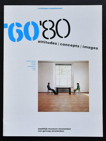 Stedelijk Museum # '60  '80 supplement # 1982, Crouwel, mint-