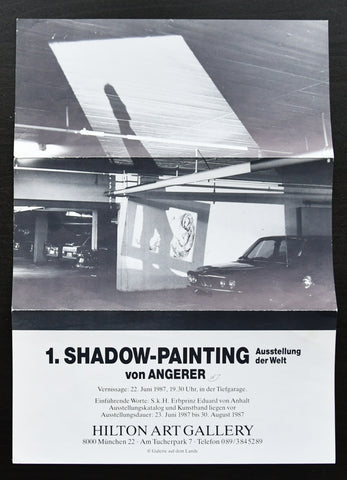 Angerer # SHADOW PAINTIN# mini poster, nm+