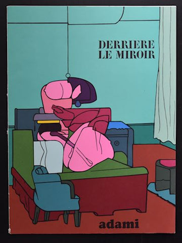 Derriere le Miroir # ADAMI # Maeght, 9 lithographs, 1970, mint-