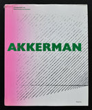 Marcel Vos # AKKERMAN, schilder /Painter # 1988, nm
