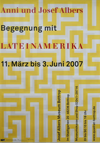 Anni and Josef Albers # BEGEGNUNG MIT LATEINAMERIKA # 2007, mint