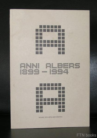 Musee des Arts Decoratifs # ANNI ALBERS 1899-1994 #  1999, NM+