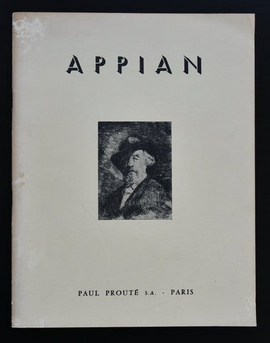 Paul Proute # Adolphe APPIAN # 1968, nm