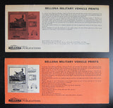 Bellona # ARMORED VEHICLES , set of 2 # 1969, nm