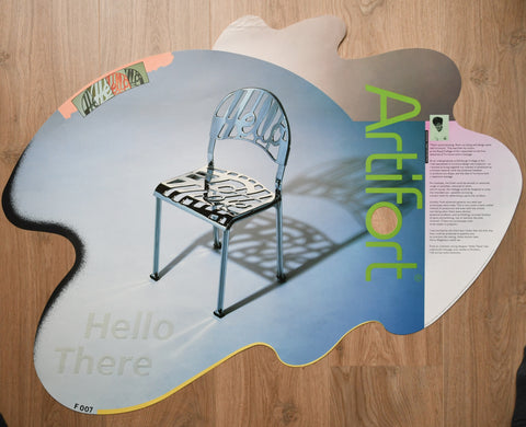 Studio Dumbar , Jeremy Harvey# ARTIFORT, Hello There # 1985, cond. B+