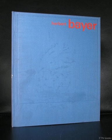 Otto Maier Verlag, design and typography# HERBERT BAYER # 1967, nm