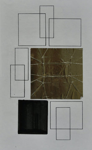 Siep van den Berg # Constructivist COLLAGE /  DRAWING # 1990 , original