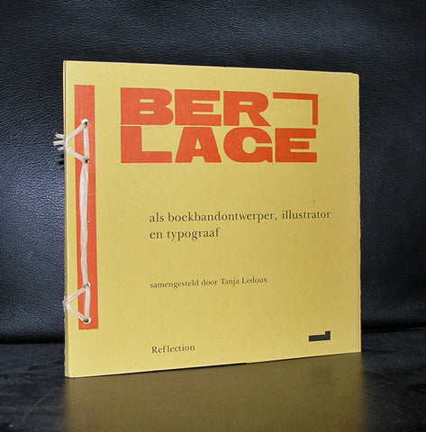 H.P. Berlage, Typography # BERLAGE # 1996, numbered 653