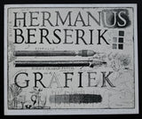 Hermanus Berserik # GRAFIEK + Original litho # 1981, mint