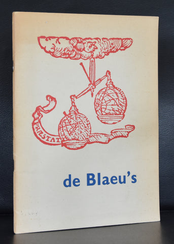 Willem Sandberg (design) # DE BLAEU's# 1952, nm