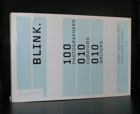Manen, Meene, Dijkstra a.o # BLINK / 100 photographers # Phaidon, 2002, nm