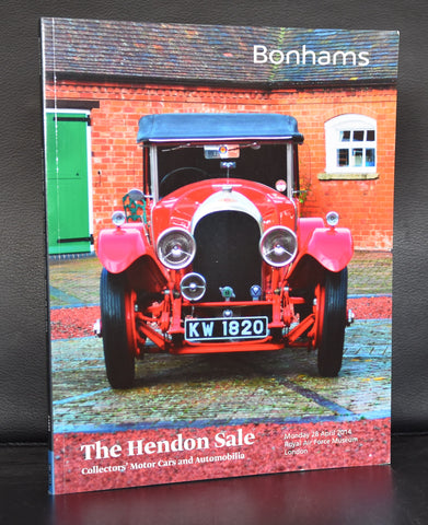 Bonhams # THE HENDON SALE # 2014, mint-
