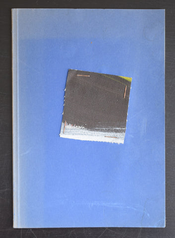 artis book  with original painting on cover # CHRIS DE BUEGER # ca. 1985, nm