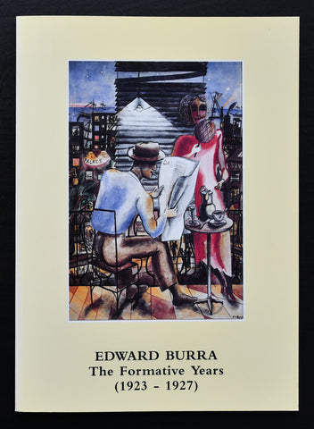 Lefevre gallery # EDWARD BURRA  # 1994, mint