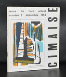 Revue de l'art Actuel # CIMAISE 2, Bertrand # dec. 1953, nm