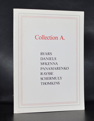 Panamarenko, Raysse Daniels a.o. # COLLECTION A. # Isy Brachot, 1983