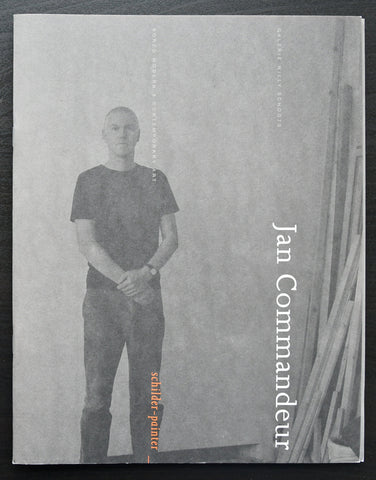 Jan Commandeur , Borzo# SCHILDER _ PAINTER + invitation #  2006, mint