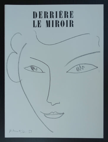 Derriere le Miroir, no. 46, reedition # HENRI MATISSE # mint-
