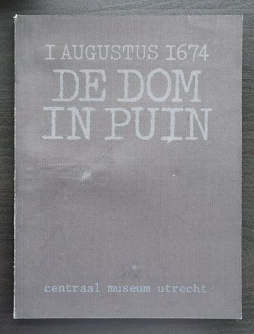 Anthon Beeke # DE DOM IN PUIN # 1974, nm+
