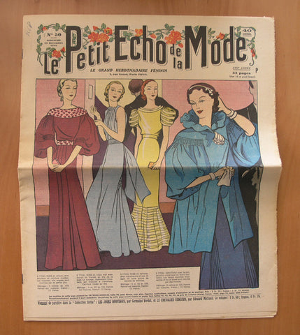 Femini# PETIT ECHO DE LA MODE# 15/12, 1935, nm