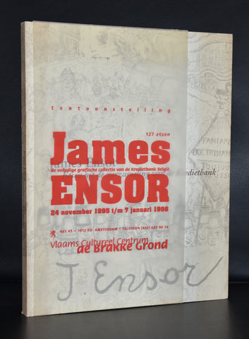 de Brakke Grond # JAMES ENSOR, 127 Etsen # 1995, nm+