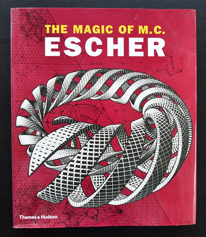 M.C. Escher # THE MAGIC OF M.C. ESCHER # THames & HUdson, 2000, mint