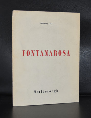 Marlborough # FONTANAROSA # 1956, nm