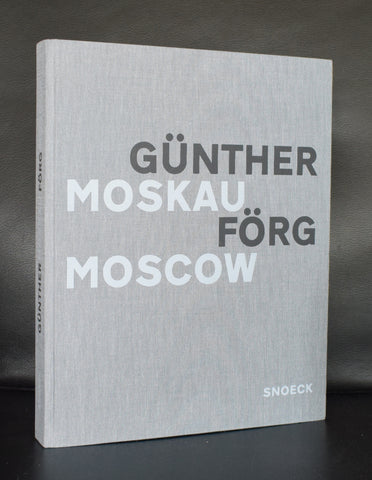Gunther Forg # MOSKAU / MOSCOW # Snoeck, 1995, mint