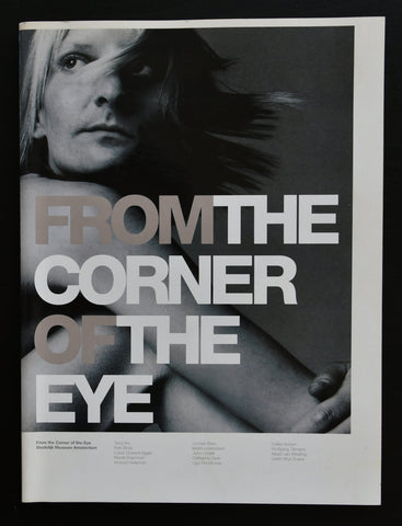 Stedelijk Museum, Opie ao # FROM THE CORNER OF THE EYE # 1998, mint-