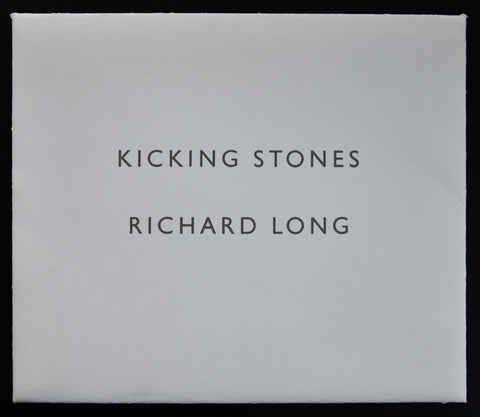 Anthony d'Offay Gallery # RICHARD LONG, Kicking Stones # 1990, mint