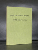 Hamish Fulton #ONE HUNDRED WALKS#1991,signed, numbered, MINT