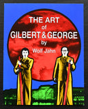 Wolf Jahn , invitation for the presentation of the book # GILBERT & GEORGE # 1990, mint--