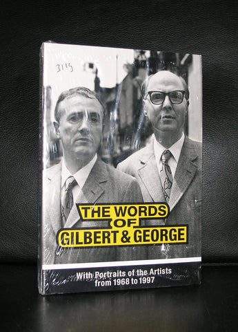Violette # THE WORDS OF GILBERT & GEORGE # mint sealed copy