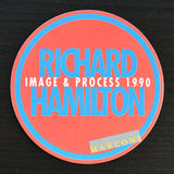 Richard Hamilton # IMAGE & PROCESS # invitation, 1990, mint