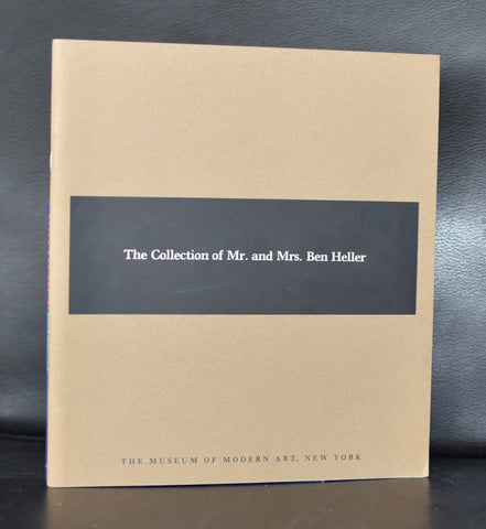 Museum of Modern Art # THE COLLECTION OF MR.and MRS BEN HELLER # 1961, mint--