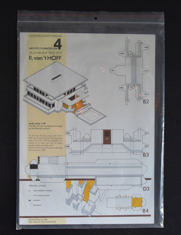 Robert van 't Hoff, Architecture model kit # VILLA HENNY 1915-1919 # De Stijl, mint