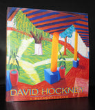 Los Angeles County Museum # DAVID HOCKNEY, a Retrospective# 1988, nm