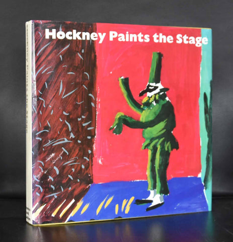 David Hockney # HOCKNEY PAINTS THE STAGE # 1983, mint--