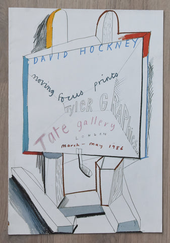 Tate Gallery London, Tyler Graphics # DAVID HOCKNEY # 1986, nm+++