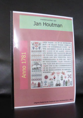 Jan Houtman, sampler # ANNO 1781 # 2000, Mint