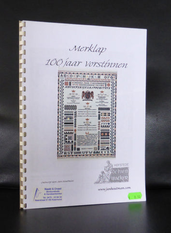 Jan Houtman, sampler # 100 jaar VORSTINNEN # 2001, mint