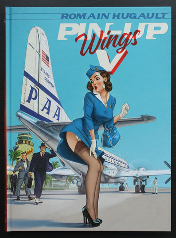 Romain Hugault # PIN-UP WINGS V # 2020, mint-