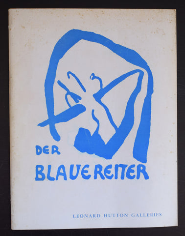 Leonard Hutton galleries # DER BLAUE REITER # 1963, nm