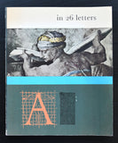 Cas Oorthuys, Carel Blazer # in 26 LETTERS # 1960, dutch typography, nm